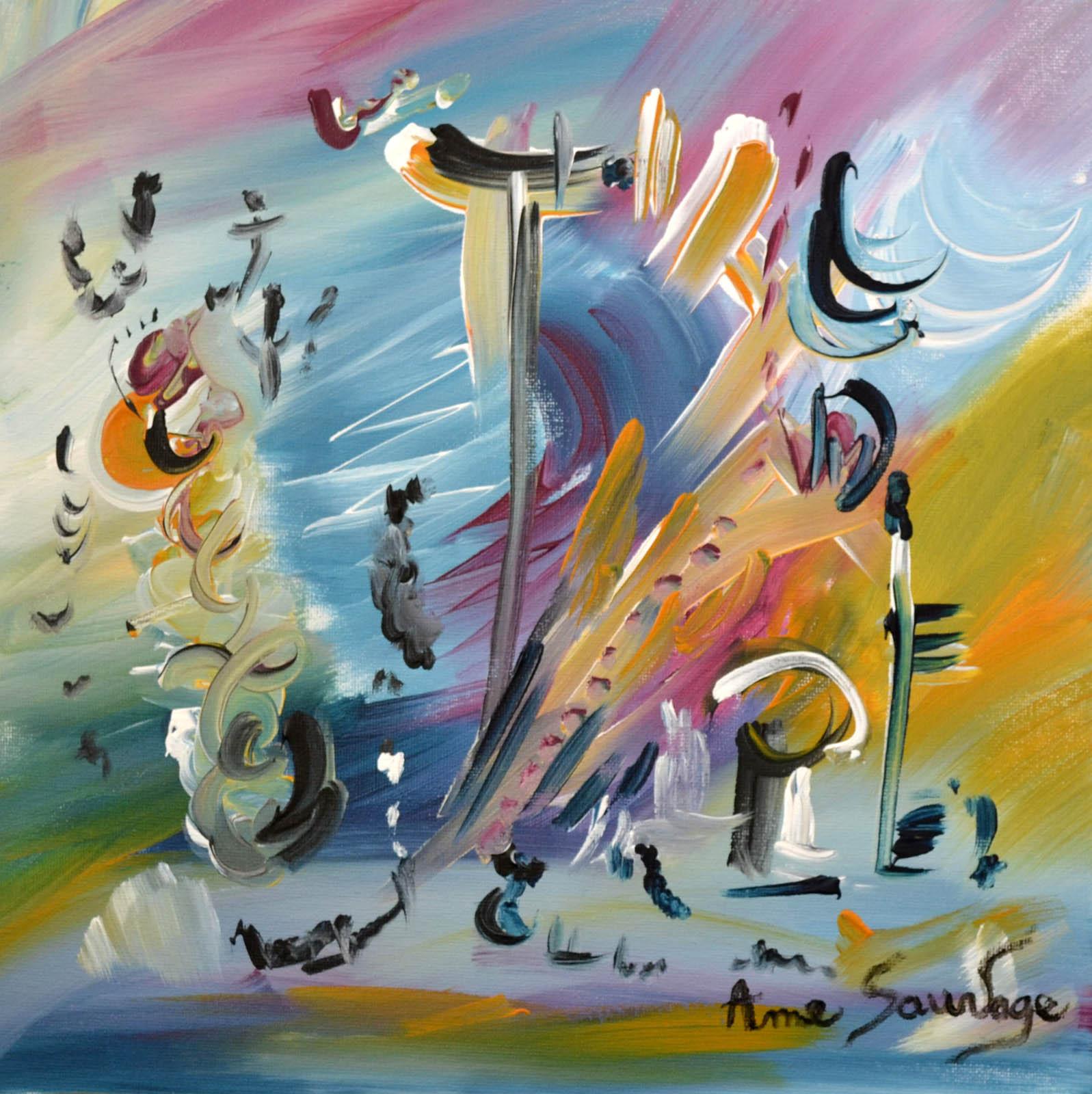 Artiste peintre tableau abstrait contemporain moderne for Peintures abstraites