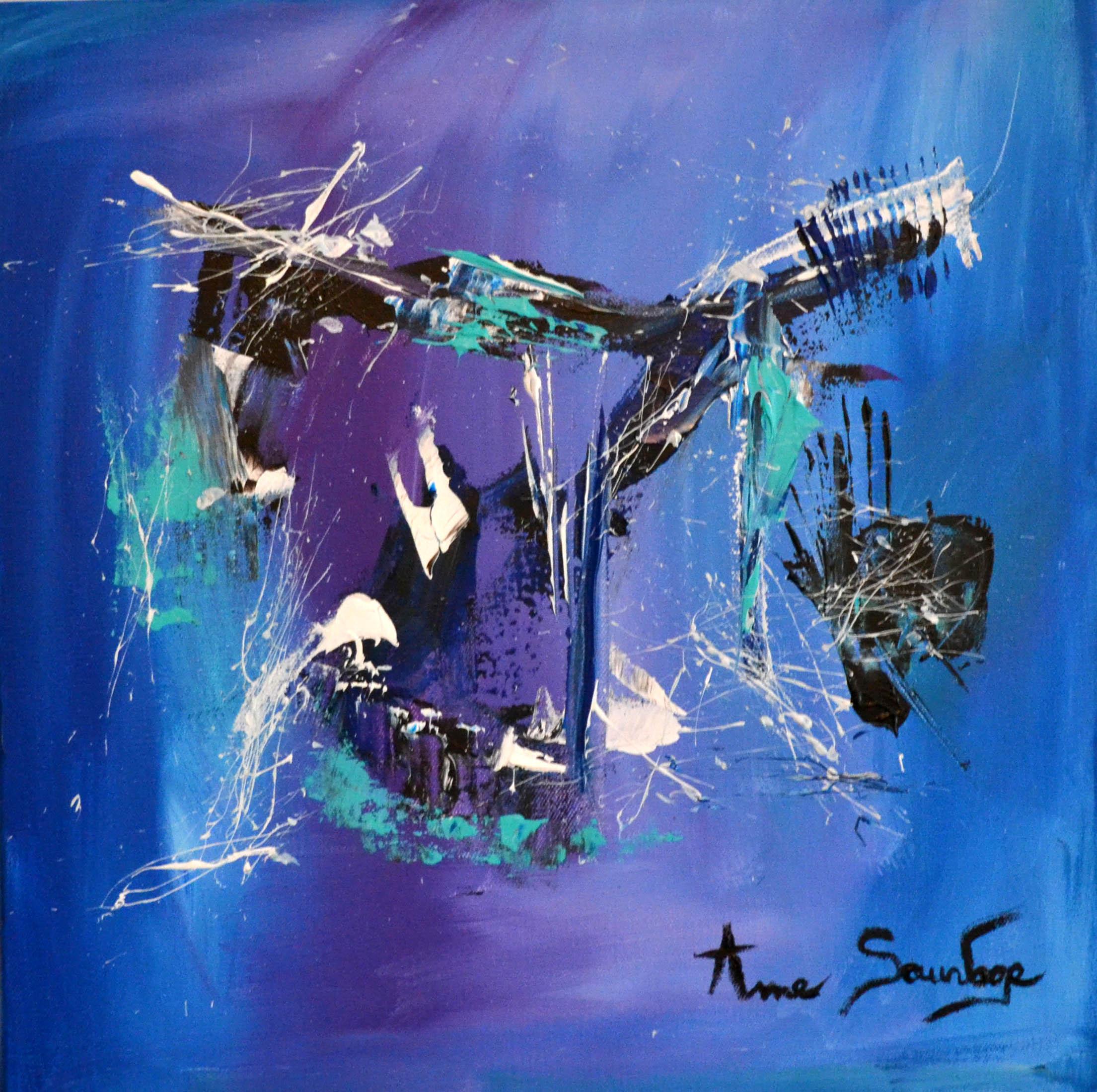 Tableaux abstraits contemporains artiste peintre ame sauvage for Peintres abstraits