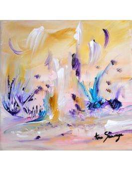 Journée magnifique tableau abstrait nature