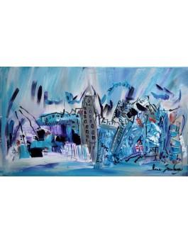 La tour grise de blue island