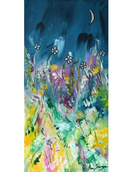 La vie se réveille - tableau de fleurs