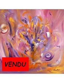 Tableau floral Mon arbre imaginaire