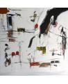 tableau contemporain abstrait épuré