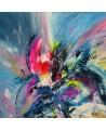 tableau multicolore moderne