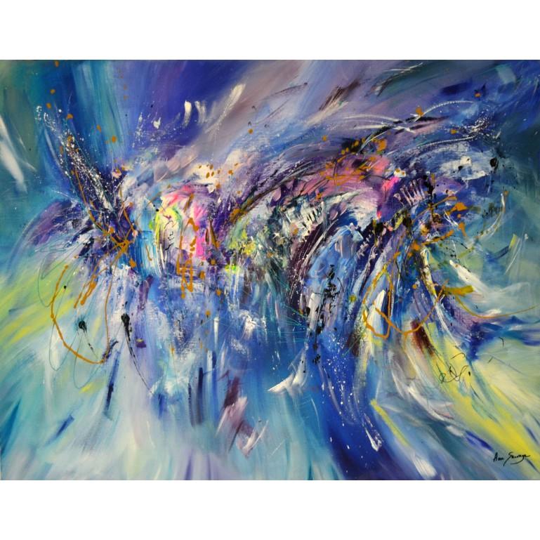 tableau contemporain d'artiste peintre