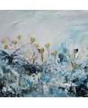 tableau de fleurs hiver