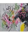 tableau moderne peint à la main