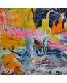 grand tableau moderne coloré
