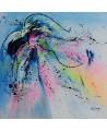 peinture moderne colorée