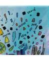 tableau abstrait original et joyeux