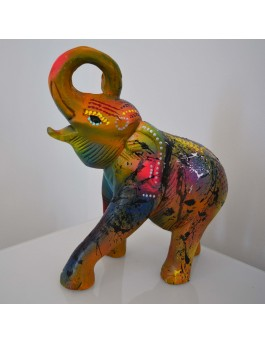 Flash éléphant - Sculpture éléphant moderne