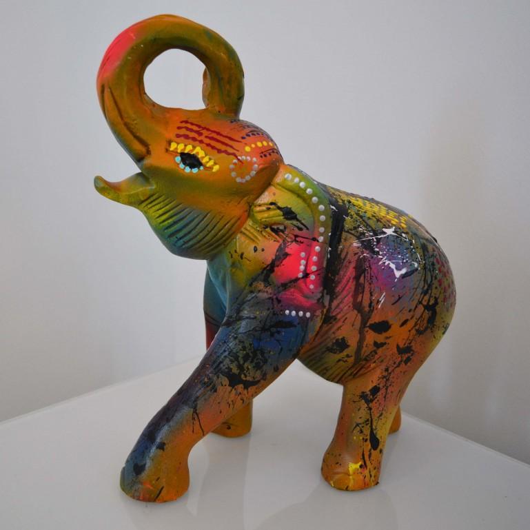 Sculpture éléphant moderne