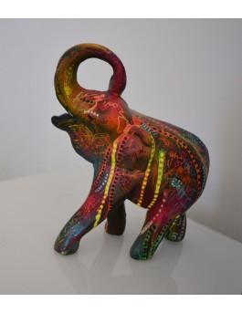 Fleurs d'éléphant - Sculpture statue éléphant moderne