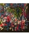 tableau abstrait flashy design