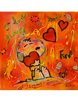 Le coeur de Snoopy