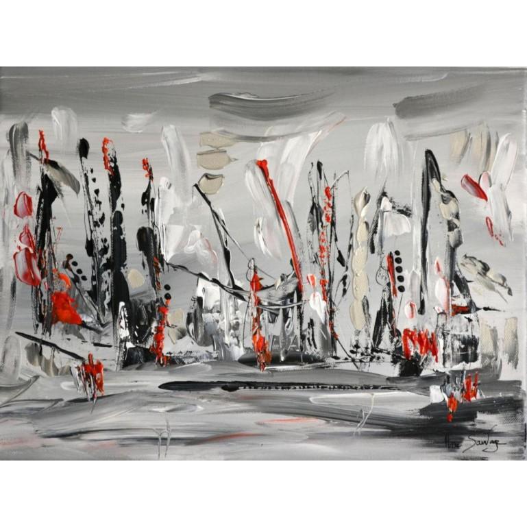 Peinture contemporaine maritime La parade