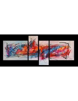 Quadriptyque Festival des couleurs