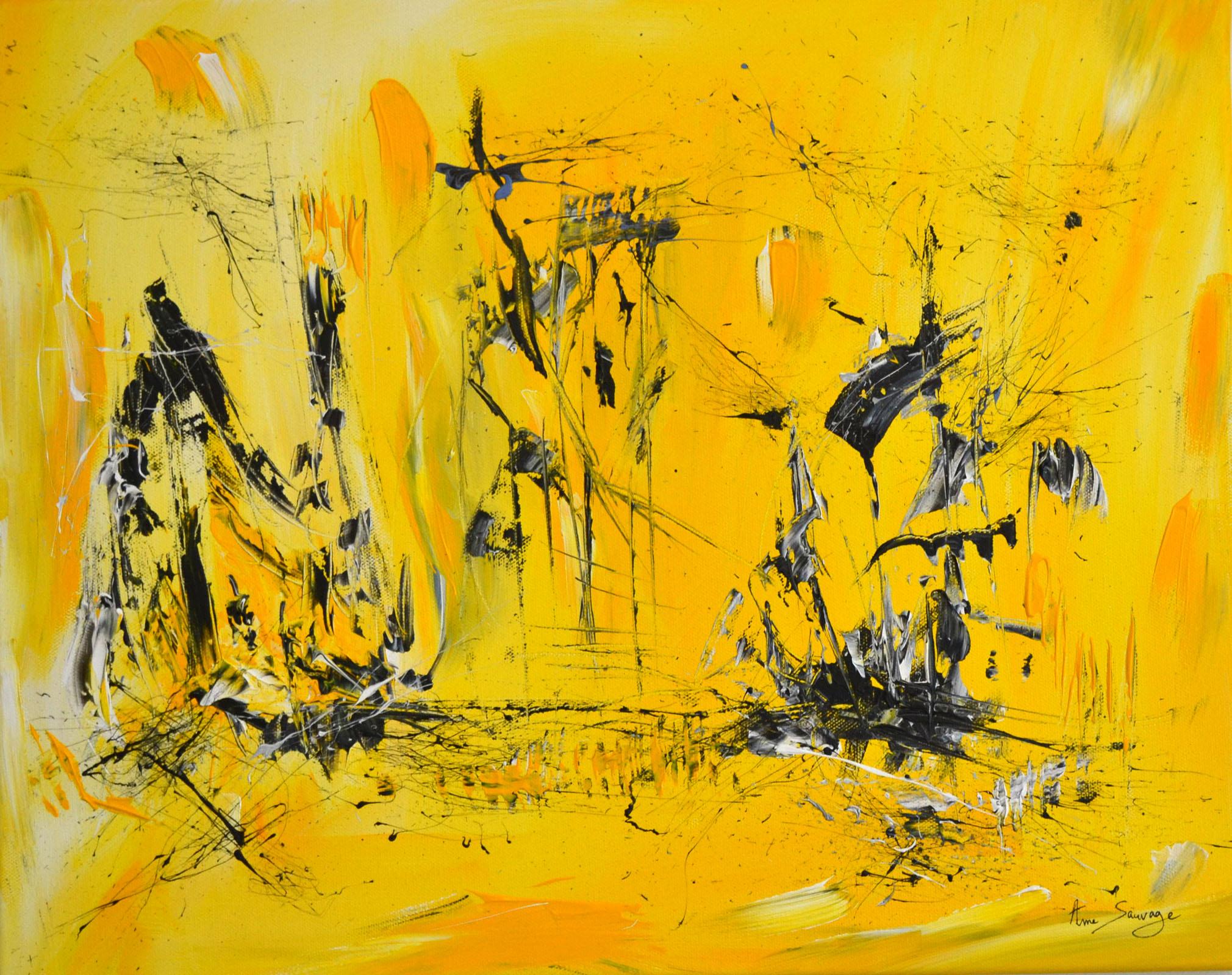 tableau-couleur-chaude-jaune
