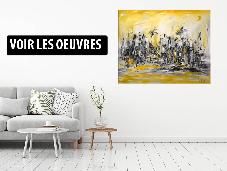 toile abstraite moderne