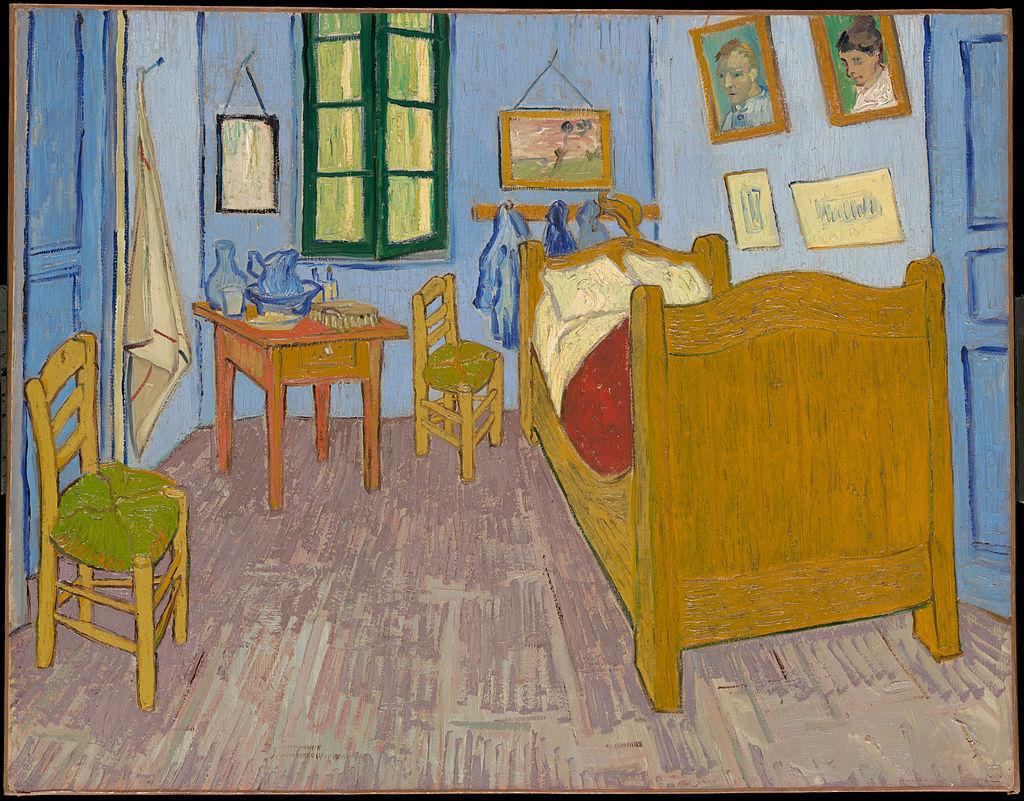 la chambre de Vincent van gogh à Arles