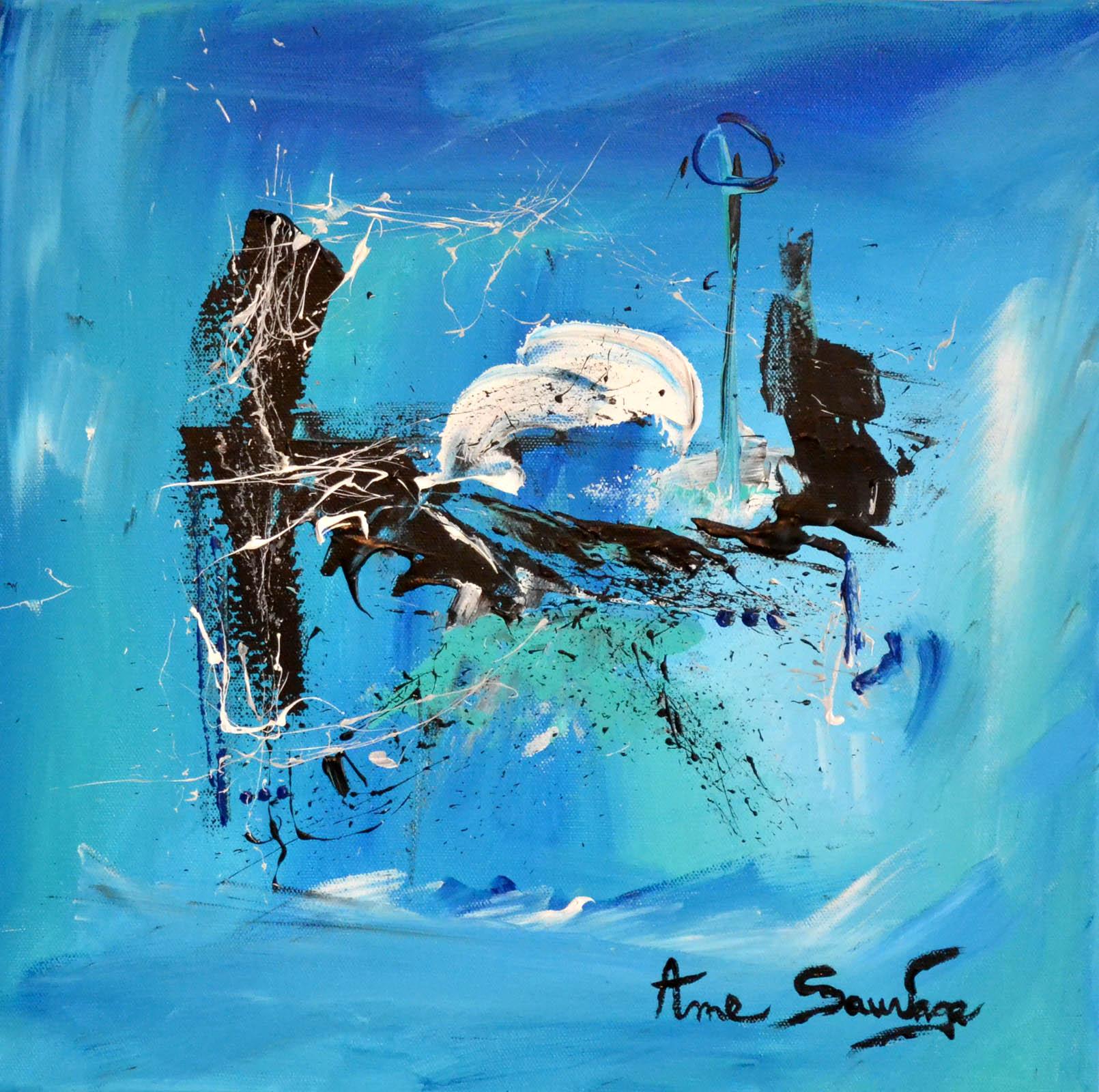 Tableaux abstraits contemporains artiste peintre ame sauvage - Les plus beaux tableaux abstraits ...