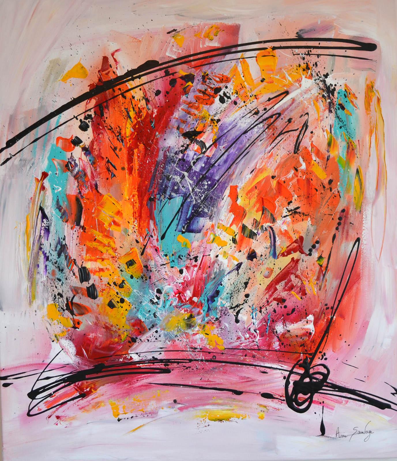 Oeuvres Artistiques Abstraites Et Contemporaines
