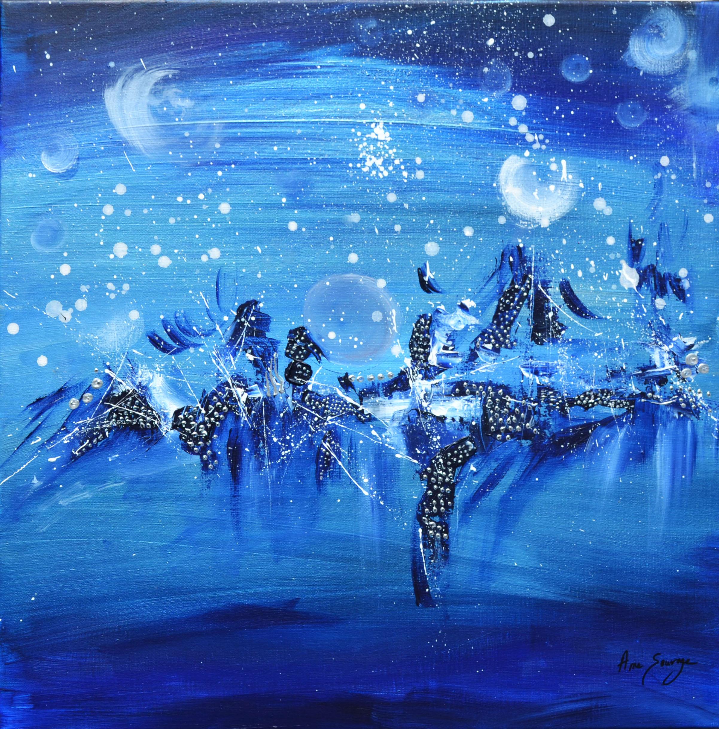 peinture abstraite sur toile 23.03.2021