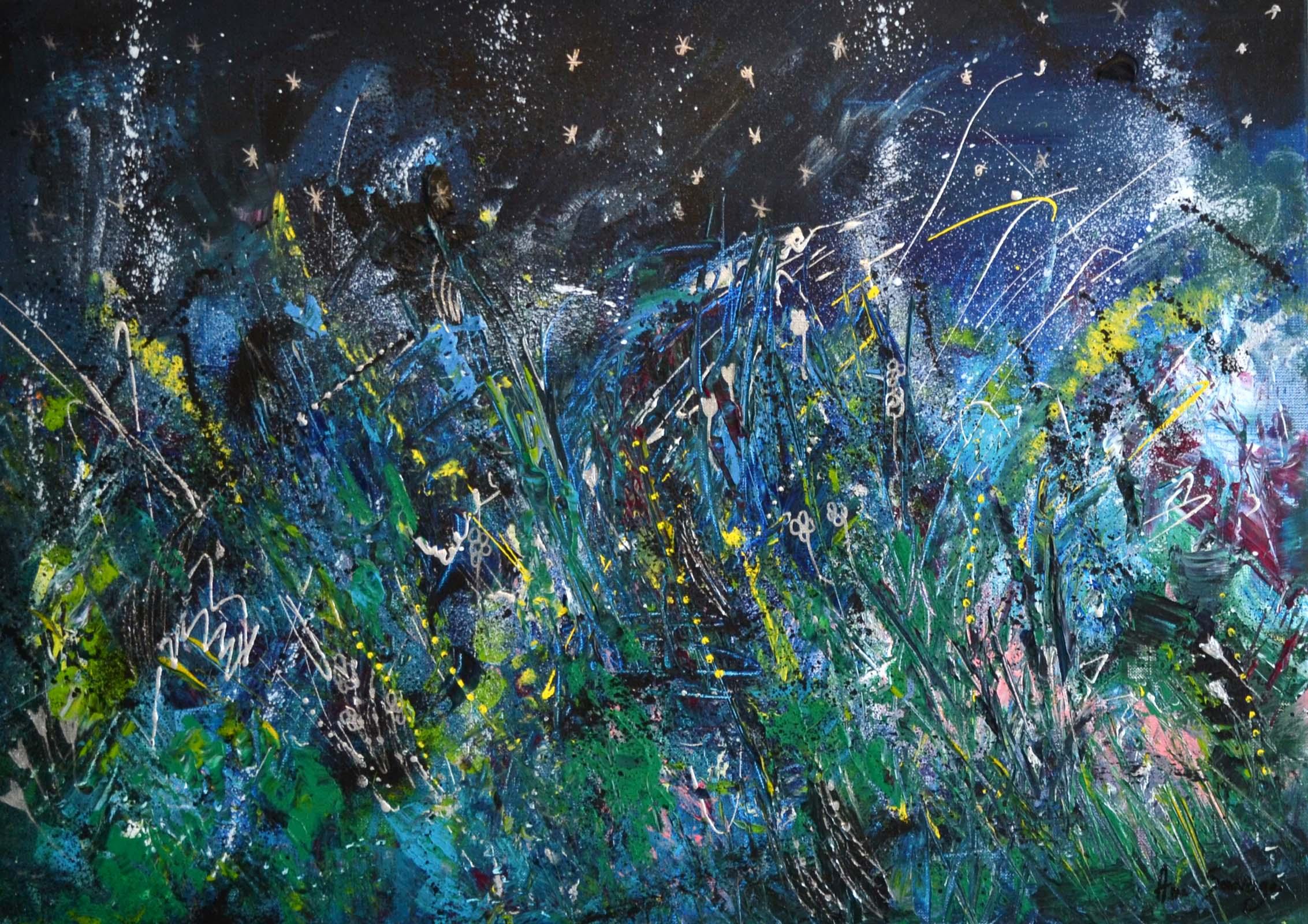 Peintre Contemporain Célèbre Vivant la nuit étoilée de van gogh : analyse de cette peinture célèbre